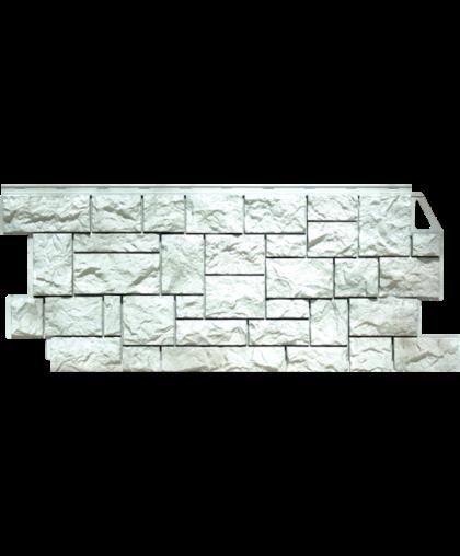 Фасадные панели FineBer Камень Дикий Жемчужный