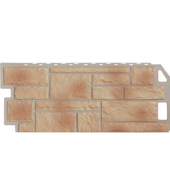 Фасадные панели FineBer Камень Бежевый
