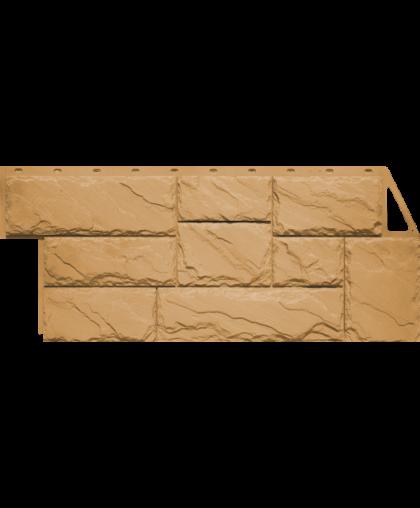 Фасадные панели FineBer Камень Крупный Песочный