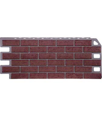 Фасадные панели FineBer Кирпич Красный