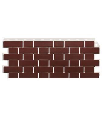 Фасадные панели FineBer Кирпич Облицовочный Britt Красный