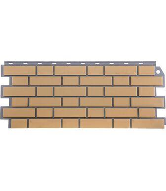 Фасадные панели FineBer Кирпич Облицовочный Желтый