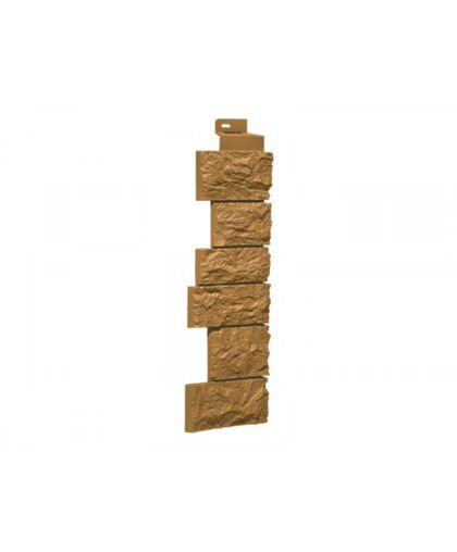 Угол наружный к Фасадным Панелям FineBer (Файнбир) Камень Дикий Песочный