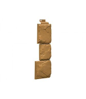 Угол наружный FineBer Камень Крупный Песочный