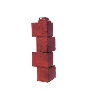 Угол наружный FineBer Камень Природный Красно-Коричневый