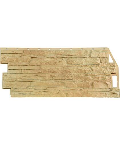 Фасадные панели FineBer Скала Бежевый