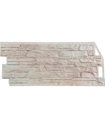 Фасадные панели FineBer Скала Мелованный белый