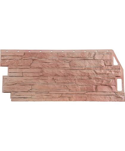 Фасадные панели FineBer Скала Терракотовый