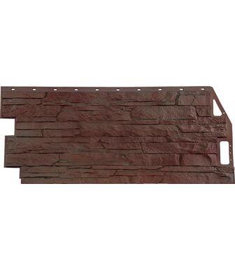 Фасадные панели FineBer Скала Желто-коричневый