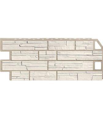 Фасадные панели FineBer Сланец Мелованный белый