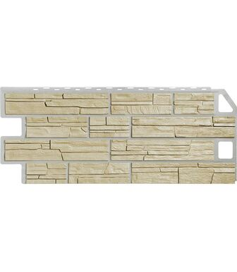 Фасадные панели FineBer Сланец Песочный