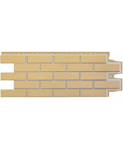 Фасадные панели (Цокольный Сайдинг) Grand Line Кирпич Клинкерный Премиум Горчичный