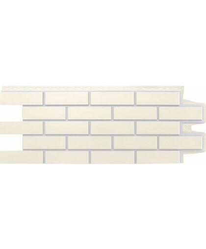 Фасадные панели (Цокольный Сайдинг) Grand Line Кирпич Клинкерный Премиум Пломбирный