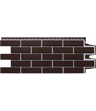 """Фасадные панели Grand Line Кирпич Клинкерный """"Премиум"""" Шоколад"""