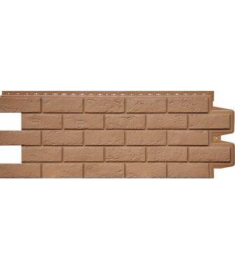 Фасадные панели Grand Line Кирпич Состаренный Глина