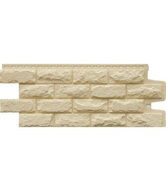 Фасадные панели Grand Line Колотый Камень Стандарт Бежевый