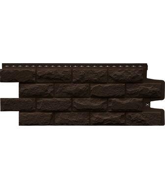 Фасадные панели Grand Line Колотый Камень Стандарт Коричневый