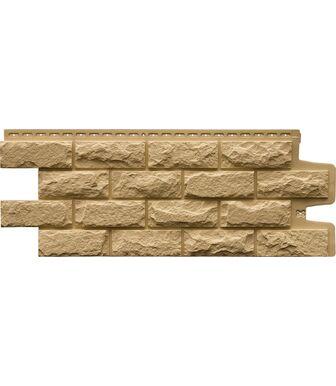 Фасадные панели Grand Line Колотый Камень Стандарт Песочный