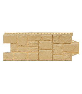 Фасадные панели Grand Line Крупный Камень Песочный