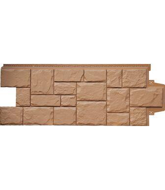 Фасадные панели Grand Line Крупный Камень Глина