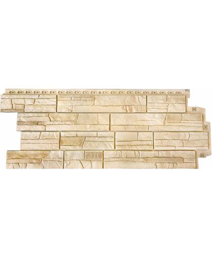 Фасадные панели (Цокольный Сайдинг) Grand Line Сланец Элит Пшеница