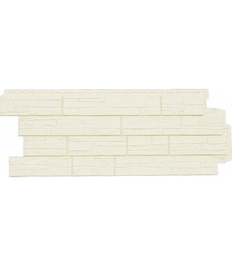 Фасадные панели Grand Line Сланец Молочный