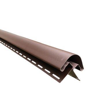 Угол Наружный радиусный Grand Line Я-Фасад Коричневый (Темный Дуб)
