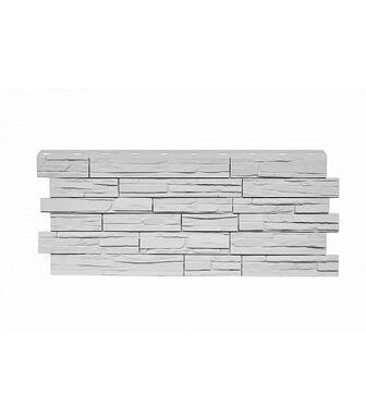 Фасадные панели Nordside Сланец Белый