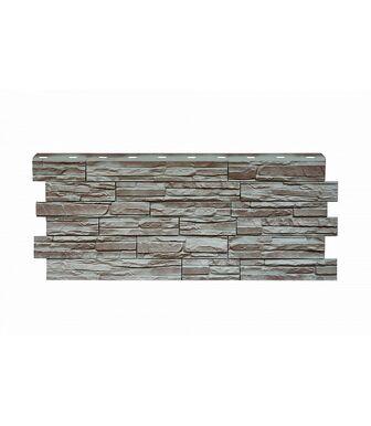 Фасадные панели Nordside Сланец Серый