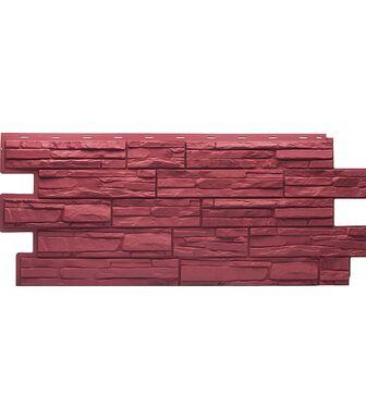 Фасадные панели Техоснастка  Альпийская Сказка Красный