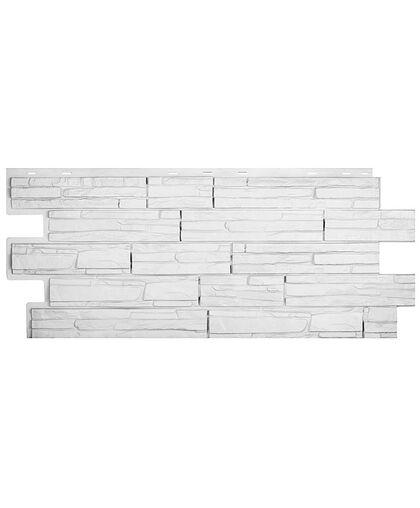 Фасадные панели Техоснастка  Альпийская Сказка Белый (одноцветный)