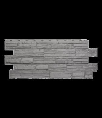 Фасадные панели Техоснастка  Альпийская Сказка Серый