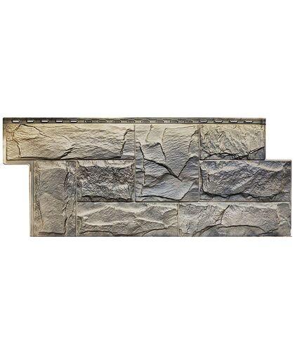 Фасадные панели Техоснастка  Гранит Леон Урал (двухцветный)