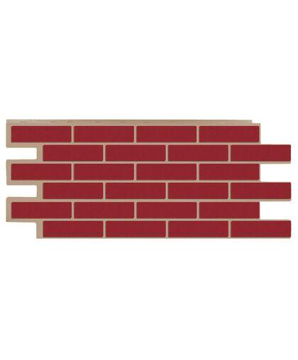 Фасадные панели (Цокольный Сайдинг) Т-Сайдинг (Техоснастка) Керамит (Кирпич Керамический) Бордо