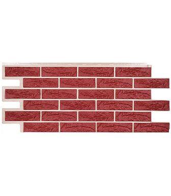 Фасадные панели Техоснастка Лондон Брик Красный
