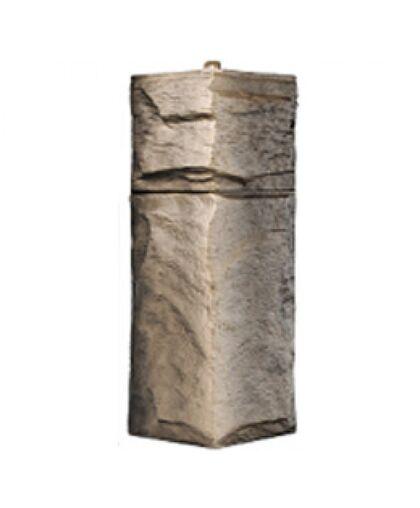 Угол наружный к Фасадным Панелям Т-Сайдинг (Техоснастка) Гранит Леон Эко 2 Сосна