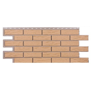 Фасадные Панели Т-Сайдинг (Техоснастка) Саман (Клинкерный Керамический Кирпич)