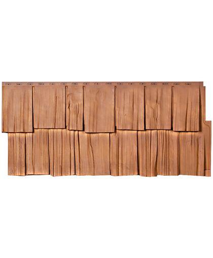 Фасадные панели Техоснастка Щепа Дуб Тянь-Шань