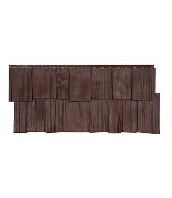 Фасадные панели Техоснастка Щепа Дуб ЭКО Браун