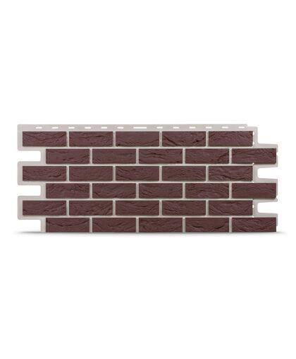 Фасадные панели Tecos Кирпич Бургунд