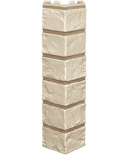 Угол наружный к Фасадным Панелям VOX (Вокс) Vilo Brick (Вило Брик) Ivory (Слоновая Кость)