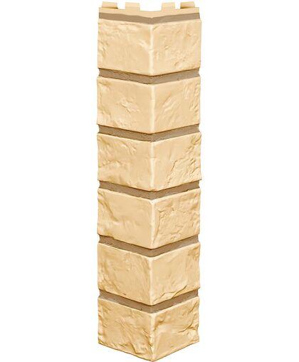 Угол наружный к Фасадным Панелям VOX (Вокс) Vilo Brick (Вило Брик) Sand (Песочный)