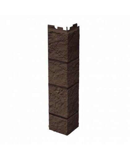 Угол наружный VOX Vilo Sandstone Dark Brown (Темно-Коричневый)