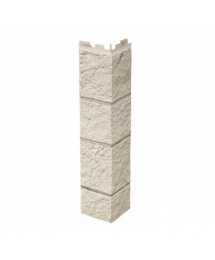 Угол наружный к Фасадным Панелям VOX (Вокс) Vilo Sandstone Ivory (Слоновая кость)