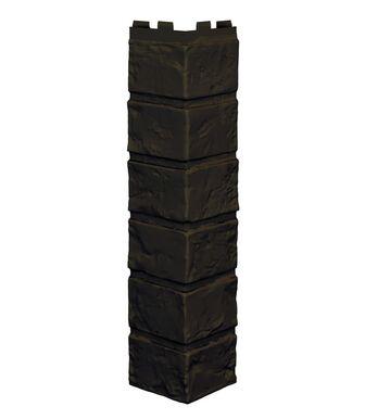 Угол наружный VOX Vilo Brick Dark Brown (Темно-Коричневый) без Шва