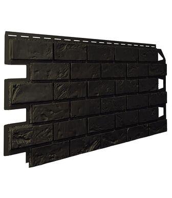 Фасадные панели VOX Vilo Brick Dark brown (Темно-Коричневый) Без Шва
