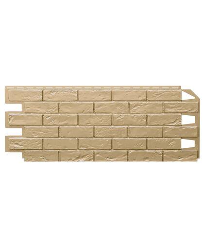Фасадные панели (Цокольный Сайдинг) VOX Vilo Brick Sand (Песочный) Без Шва