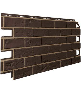Фасадные панели VOX Vilo Brick Dark brown (Темно-Коричневый)