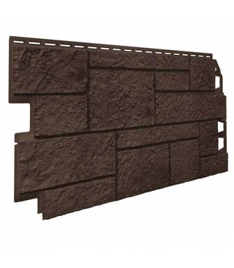 Фасадные панели VOX Vilo Sandstone Dark brown (Темно-Коричневый)