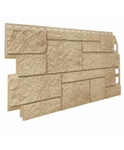 Фасадные панели (Цокольный Сайдинг) VOX Vilo Sandstone Sand (Песочный)